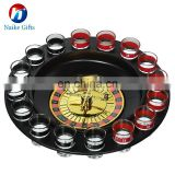 Shot Glass Roulette Drinking Game Set ( 2 Balls and 16 Shot Glasses)