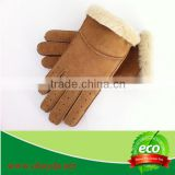 industrial leather hand gloves sheepskin hand protection safe and warm winter