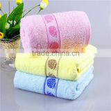 wholesale china cheapest price superior printing strawberry bright colored bath towels 100% cotton
