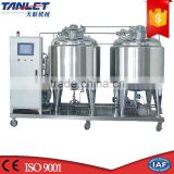 Stainless Steel 304 316 Brewery Chemical Food Pharmaceutical Clean in Place Cleaning Machine System CIP System