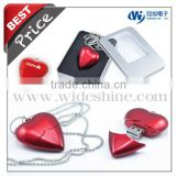 usb flash drives bulk cheap ! Heart-shaped usb flash drive ! best wedding gift