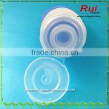 Silicone tube with plastic flip top cap, Cosmetic tube with silicone valve flip top                                                                                                         Supplier's Choice
