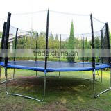 Big Trampoline with basketball hoops big indoor trampoline