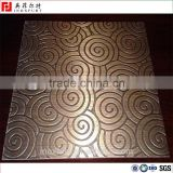 201/304 circle etching stainless steel sheet for decoration                                                                                                         Supplier's Choice