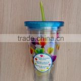 cheap Plastic Cup / Cup Includes Reusable Ice Cubes