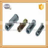 Stainless 304 Drop in Anchor Bolt with Knurling for Curtain Wall Fixings M6 M8 M10