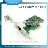PCI-E 10/100/1000M Gigabit Network Ethernet LAN Express Card