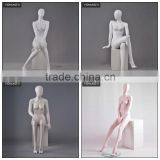 clothing display female manikin models