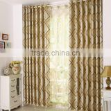 Luxury european style wholesale window curtain blinds simple good quality designs for cafe home/living room