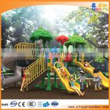 Outdoor plastic playground plastic slides for children,slide and ladder for kindergarten kids