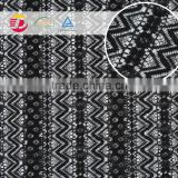 wholesale cheap best sale black wave new design embroidery lace garment accessories supplier