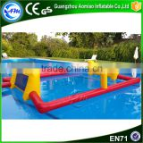 Water game toys inflatable paintball field inflatable water soccer field                                                                                                         Supplier's Choice