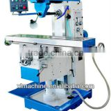 mould machining milling machine/easy operation semi-automatic milling machine/universal milling machine with swivel table
