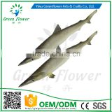 Greenflower 2016 Wholesale artificial PU fish shark China handmaking decoration