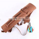 Hunting Archery Training Adjustable Microfiber Quiver Recurve Arrow Carrier Holder Arrow Case