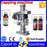 Door to door factory price Capping machine semi automatic,capping head for glass bottles