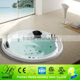 HS-BC664 round custom made bathtub inserts,built in bathtub sizes