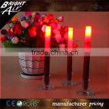 Brandnew 2pcs per set LED taper candles