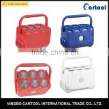 6 Cans portable mini fridge cooler box