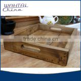 Rustic Serving Tray Vintage Wooden Tray- Pallet Wood breakfast tray                                                                         Quality Choice