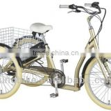 "new design 1:1 KB 24 speed 26"" folding electric cargo bike"