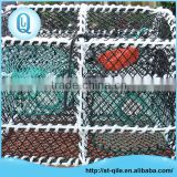 China factory sale aquaculture equipment crab trap nets pe rectangle crab nets