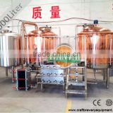 1000L two vessel copper beer brewing kettle