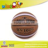 2015 New hot sell promotional made in China PU Leather Custom Colloge Match Basketball Ball
