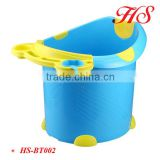 OEM plastic kids bathtub baby bath bucket bath tub child size