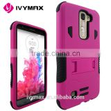 IVYMAX 2016 new model for Korea LG K7 ! Kickstand combo phone case accessories for LG K7