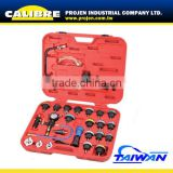 CALIBRE Car Engine 27PC Cooling System Leakage Tester and Vacuum-type Coolant Refilling Kit