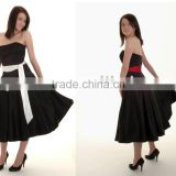 black evening dresses L-035