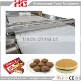 Electric heating full automatic sandwich cake plant