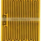 Flexible 24vdc polyimide film heating element