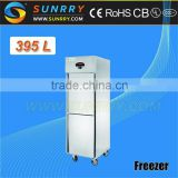 Stainless steel commercial refrigerator / industrial cryogenic mortuary freezer with low temperature