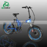 20 inch foldable Fat bike electric motor bike home china