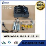 29119 29141 29142 Light truck disc brake pad for Renault Midlum