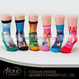 Wholesale grip socks custom cartoon printed baby tube socks                                                                         Quality Choice