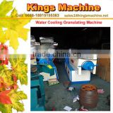 New Single Screw Extruder Water Cooling Waste Recycling Plastic Granulator Pelletizer Machine For PP/LDPE/HDPE (Kings brand)
