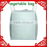Breathable feature high quality FIBC vegetable packing big bag                                                                                                         Supplier's Choice