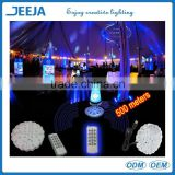 500 Meters Remote Controlled Glass Vase Led Light Base For Party/Event/Holiday Decoration