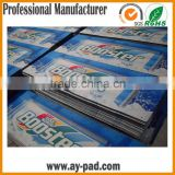 AY CMKY Printing Fabric Bar Stool Customized Bar Runner Rubber Beer Mats, Nitrile Rubber Bar Mat