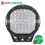New arrival offroad 4x4 round 9inch 225w led driving light