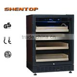 SHENTOP Electrical cigar humidor cabinet CB approvals factory STH-D3