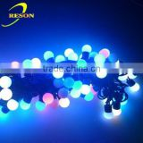 24V G50 bulb LED Festoon belt light Outdoor Christmas Decorative Fairy Lights led ball string light