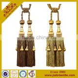 Alibaba china handmade beaded tassel rayon tieback