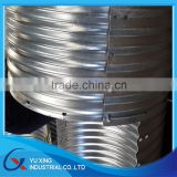 600mm diameter concrete galvanized corrugated culvert pipe