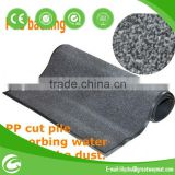 PP cut machine tufted carpet with PVC backing