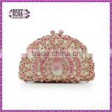 Guangzhou ladies purse factory price rhinestone clutch purse fashion evening handbags wholesale bags purse crystal