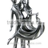 resin couple dancing figurines / love wedding statues